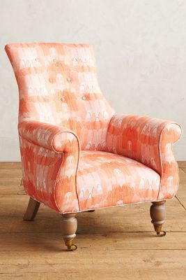 Paradise Found Feathered Astrid Chair