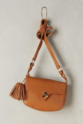 Tasseled Saddle Bag