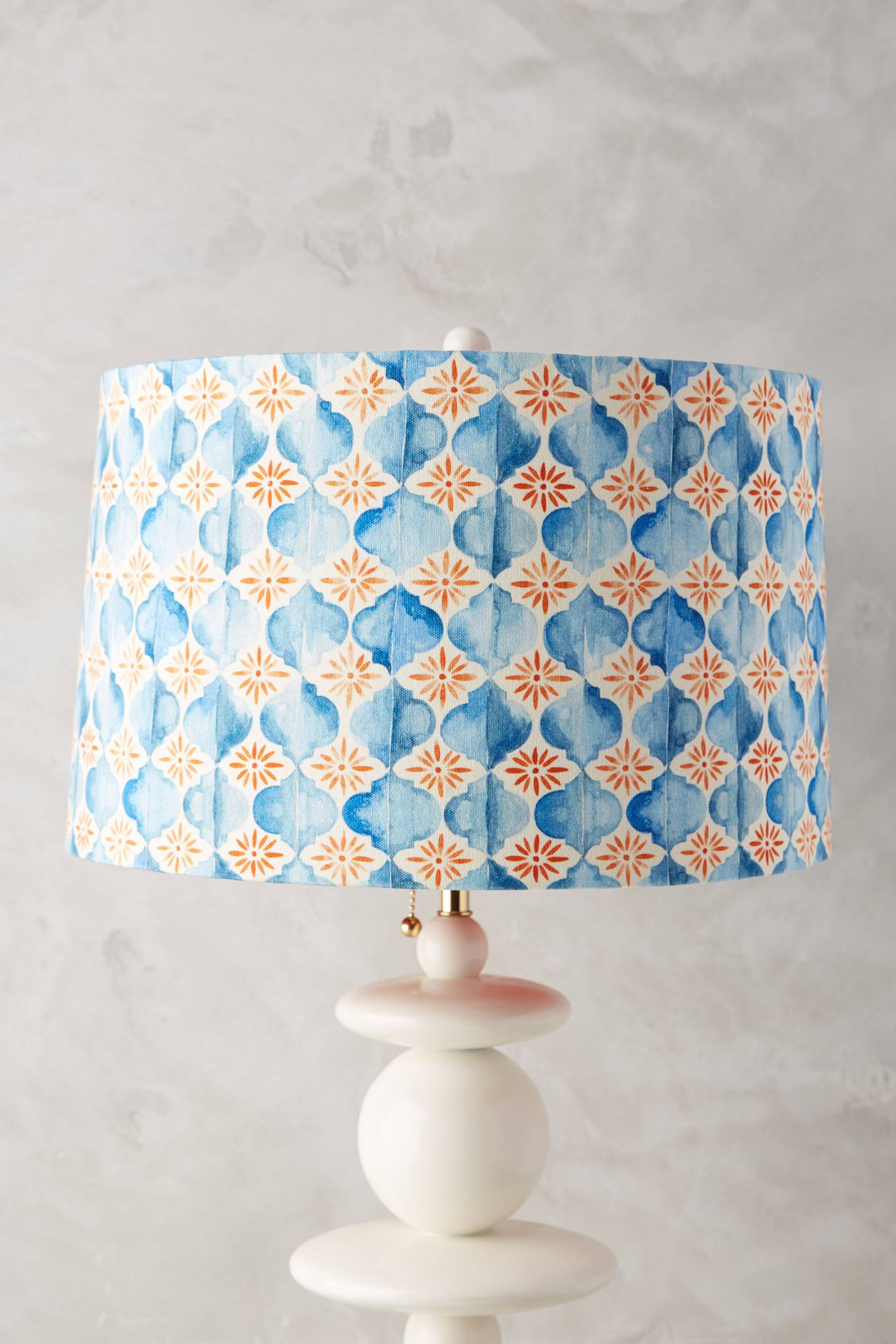 Watercolour Tile Lamp Shade