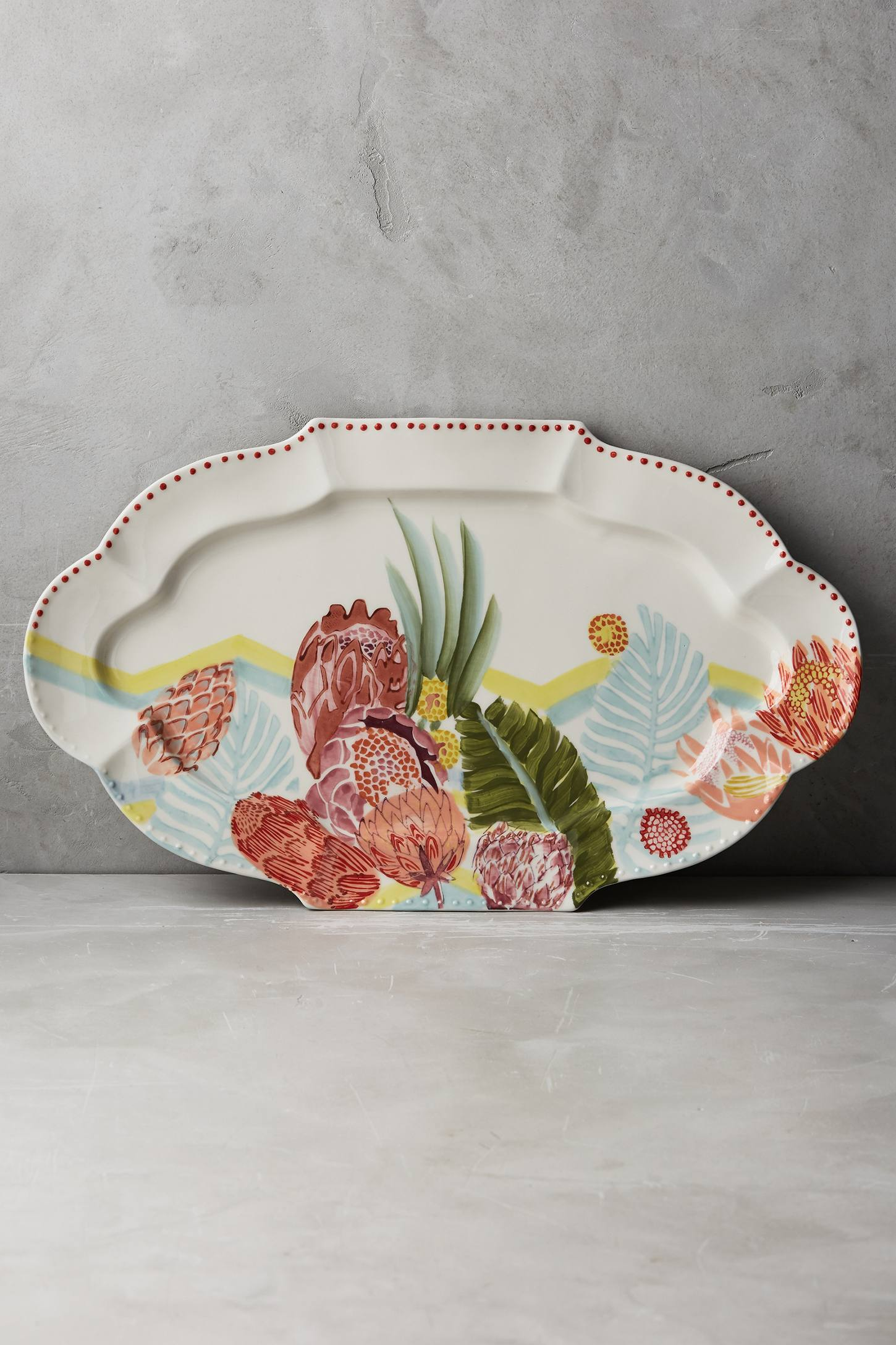 Majorcan Garden Platter