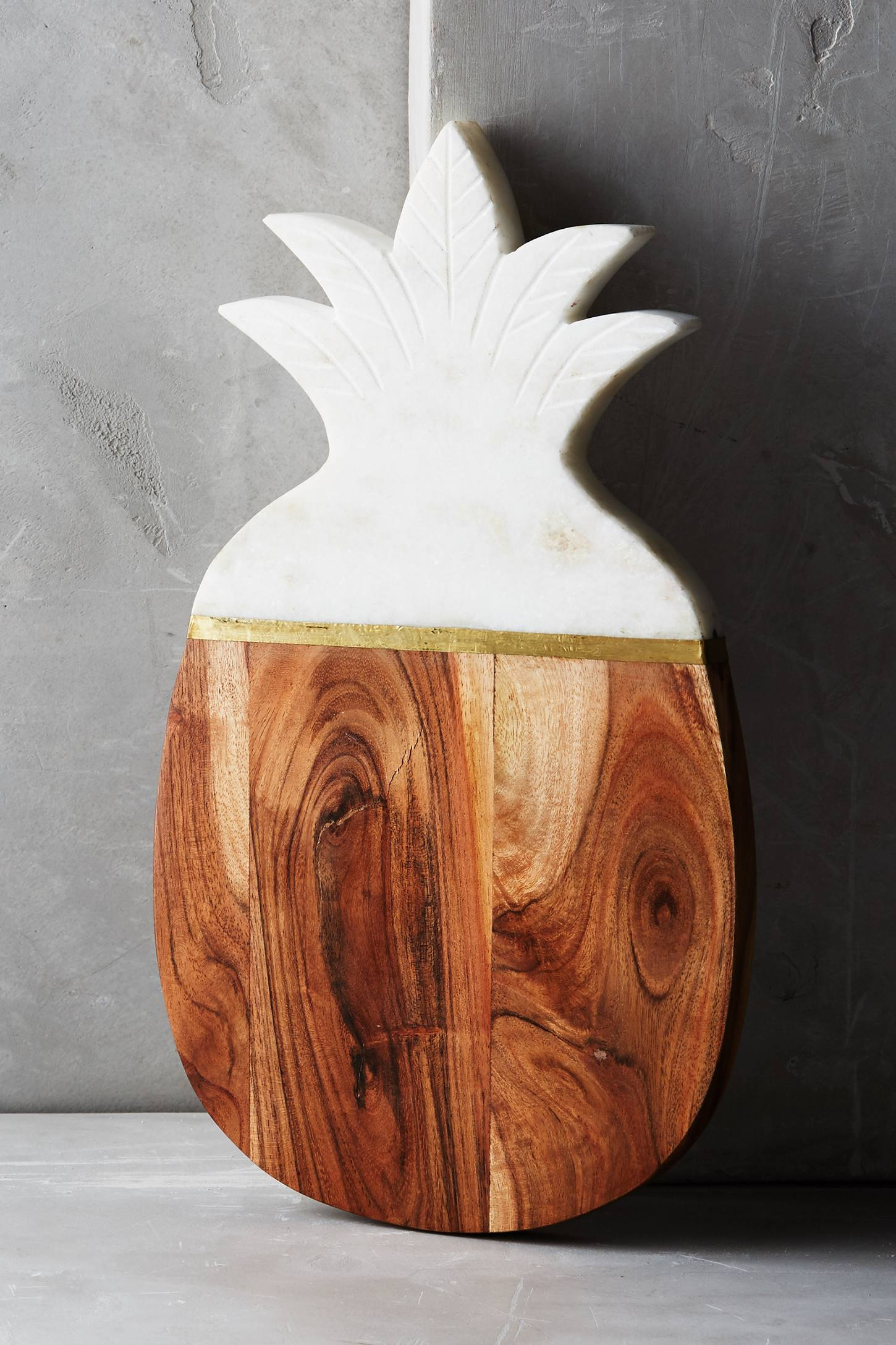 Marble & Acacia Pineapple Cheese Board