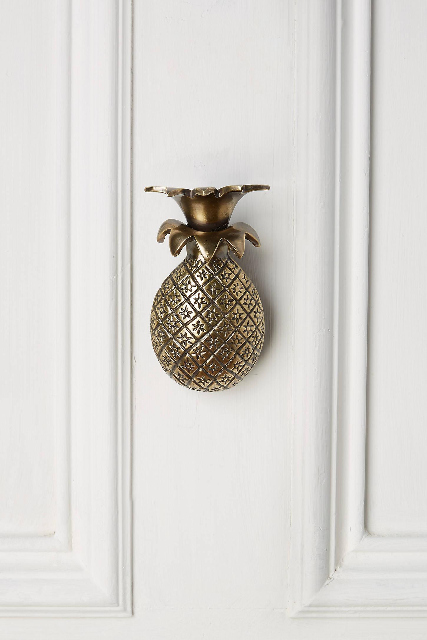 Pineapple Greetings Doorknocker