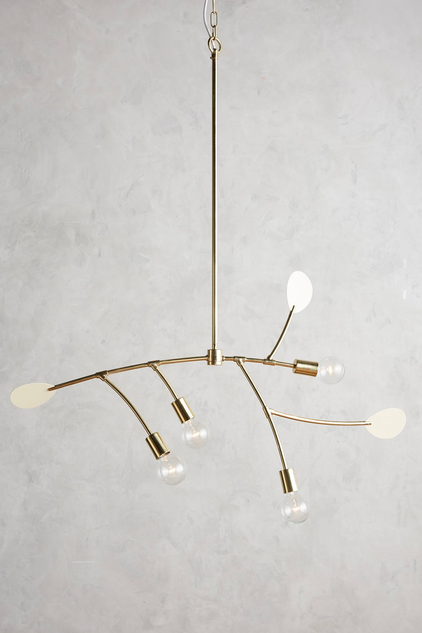 Lacquered Mobilesque Chandelier