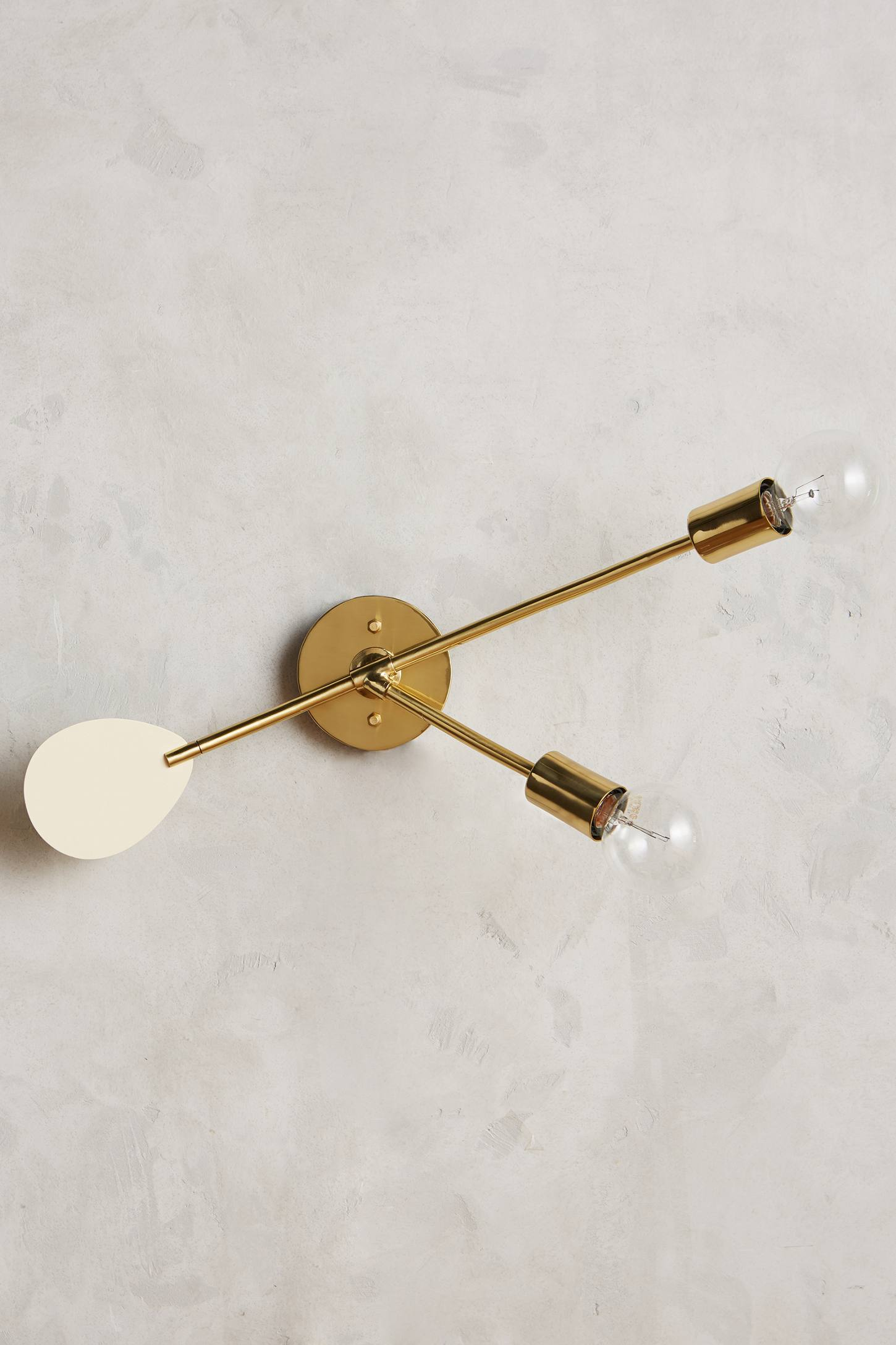 Lacquered Mobilesque Sconce