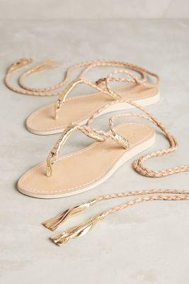 Cocobelle Gili Wrap Sandals Sand 39 Euro Sandals