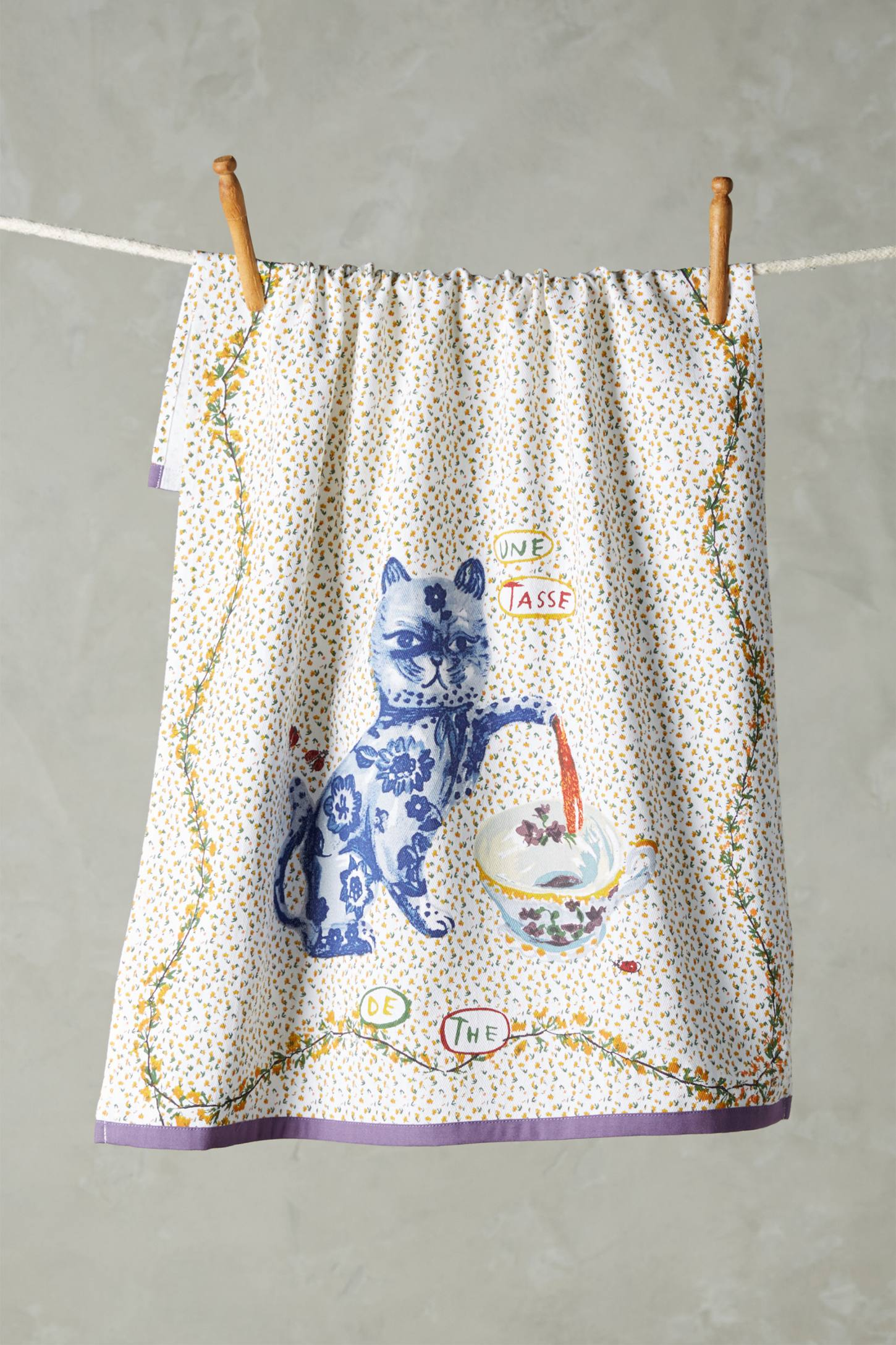 Compagnon Tea Towel