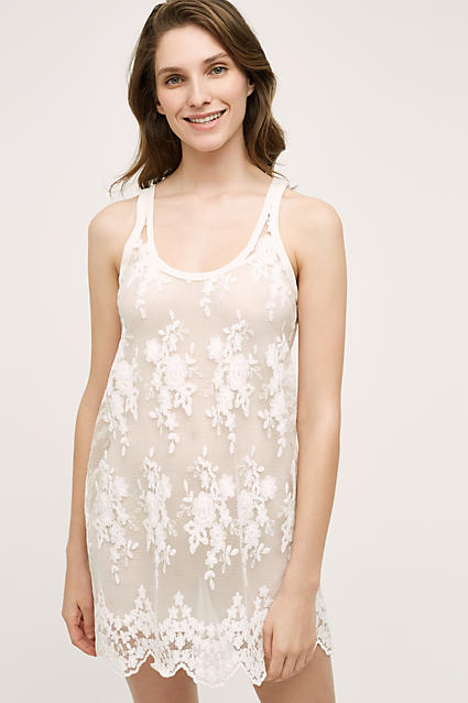 Embroidered Lierre Chemise