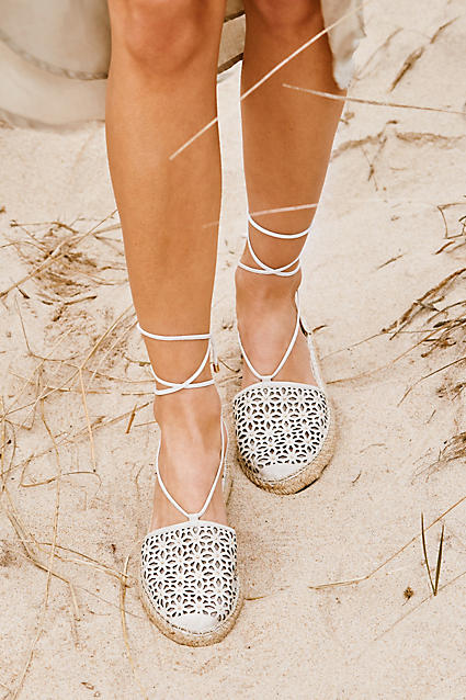 Beautiful rosecut espadrilles