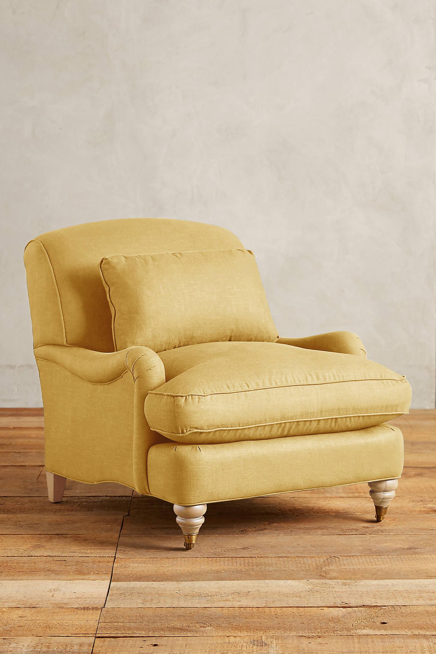 Linen Glenlee Chair, Wilcox