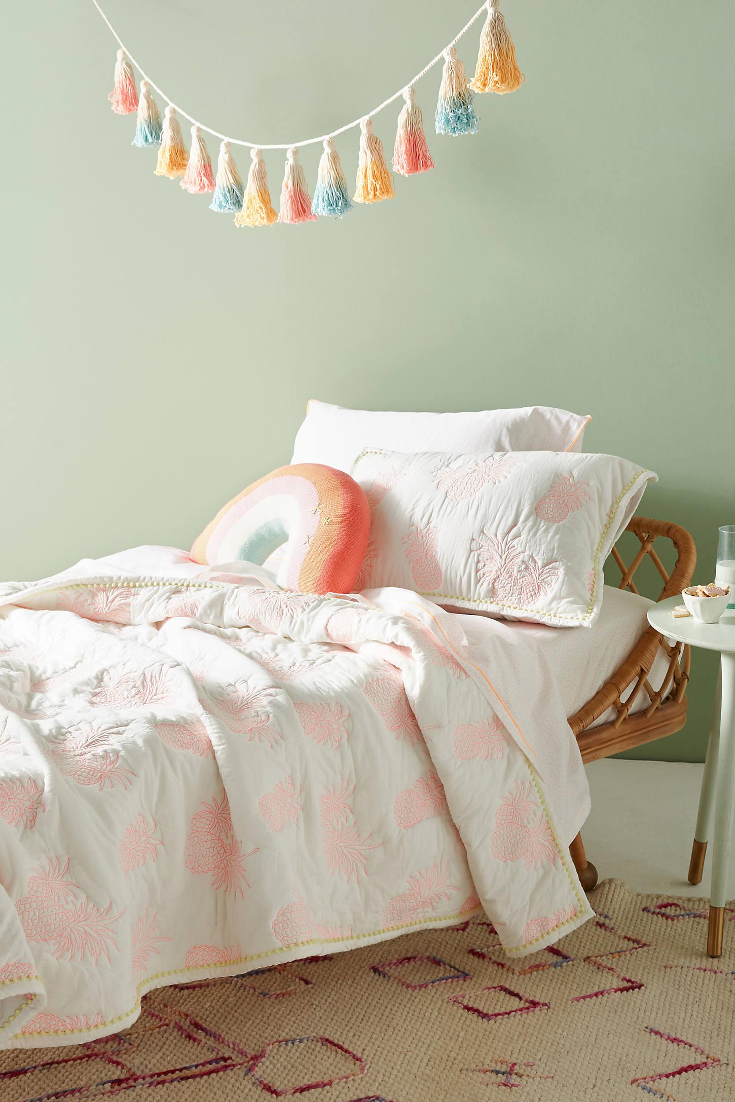 Pineapple Toddler Quilt & Playmat