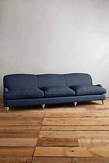 Linen Glenlee Grand Sofa, Wilcox