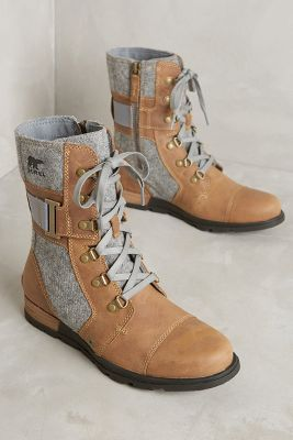 Sorel Major Carly Lace-Up Boots