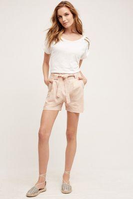 Blushed High-Rise Shorts