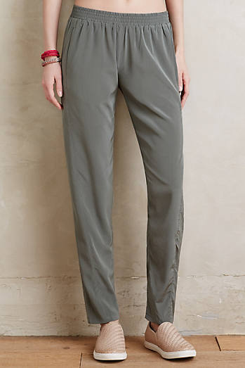 Willow-Silk Trousers