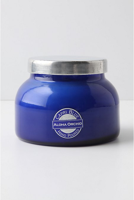 capri blue jar candle