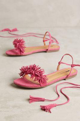 Matiko Delilah Sandals Pink 38 Euro Sandals