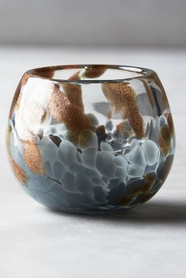 Celestial Shimmer Glass Votive