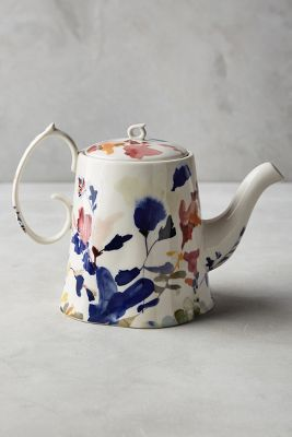 Wildflower Study Teapot