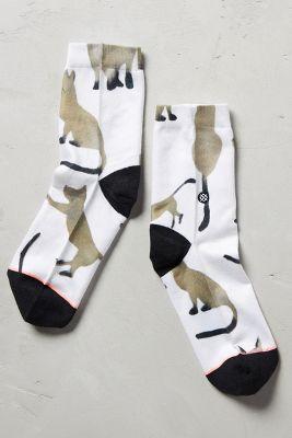 Kitten Ankle Socks