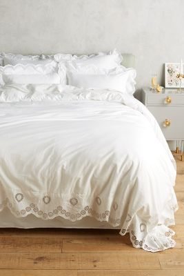 Eyelet Embroidered Duvet