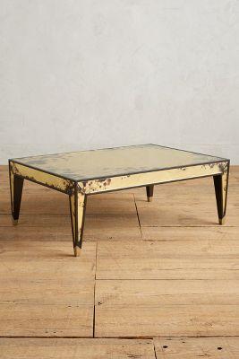 Distressed Eglomise Coffee Table