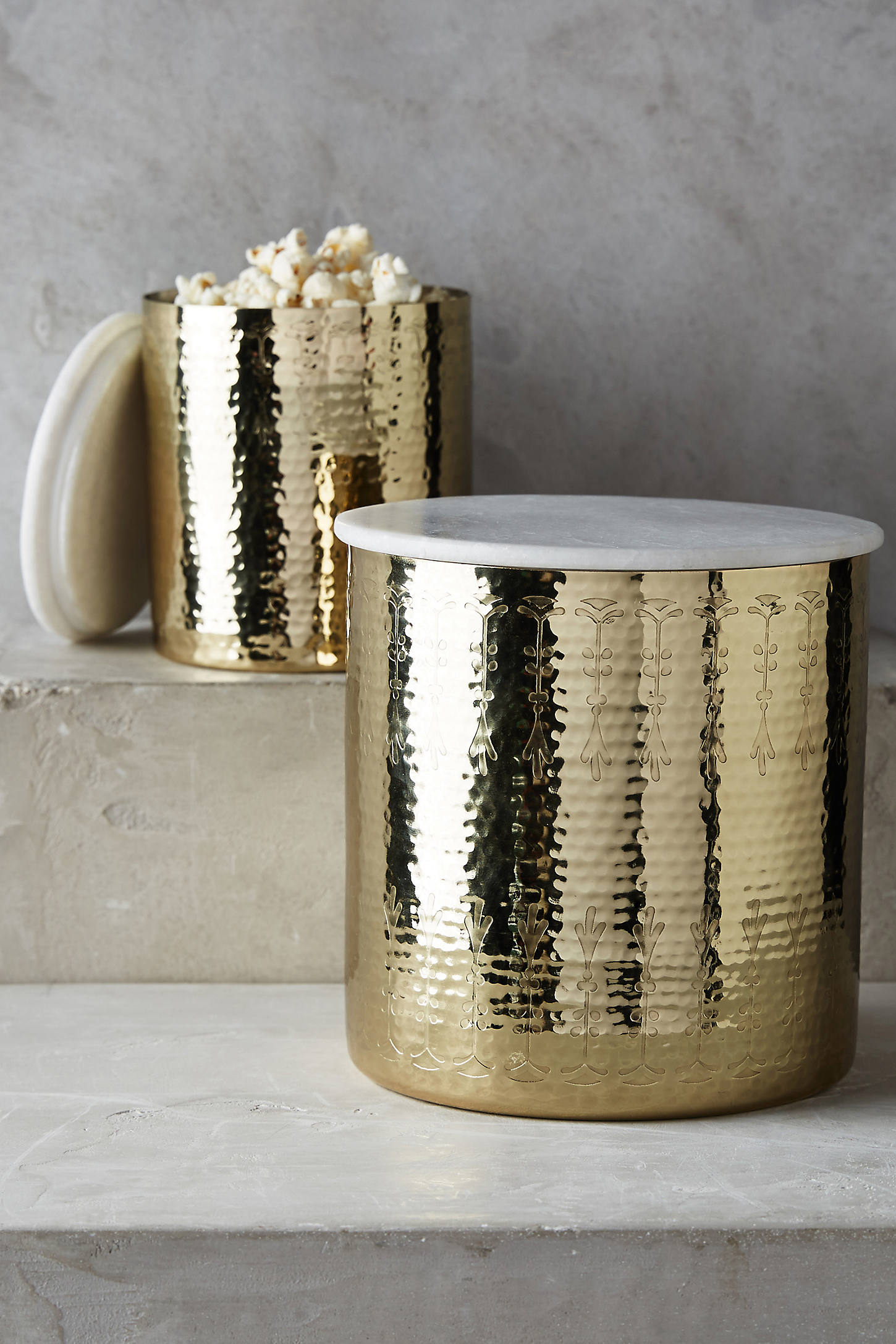 Hammered Borealis Canister