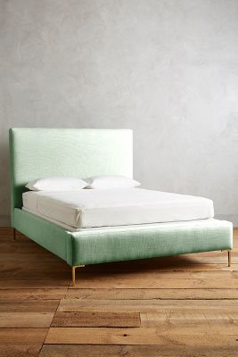 Basketweave Linen Edlyn Bed