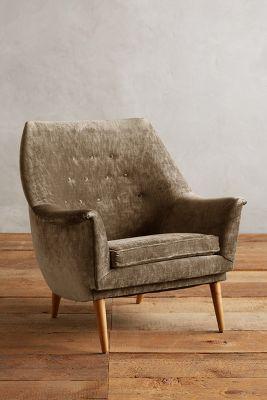 Slub Velvet Rivona Chair