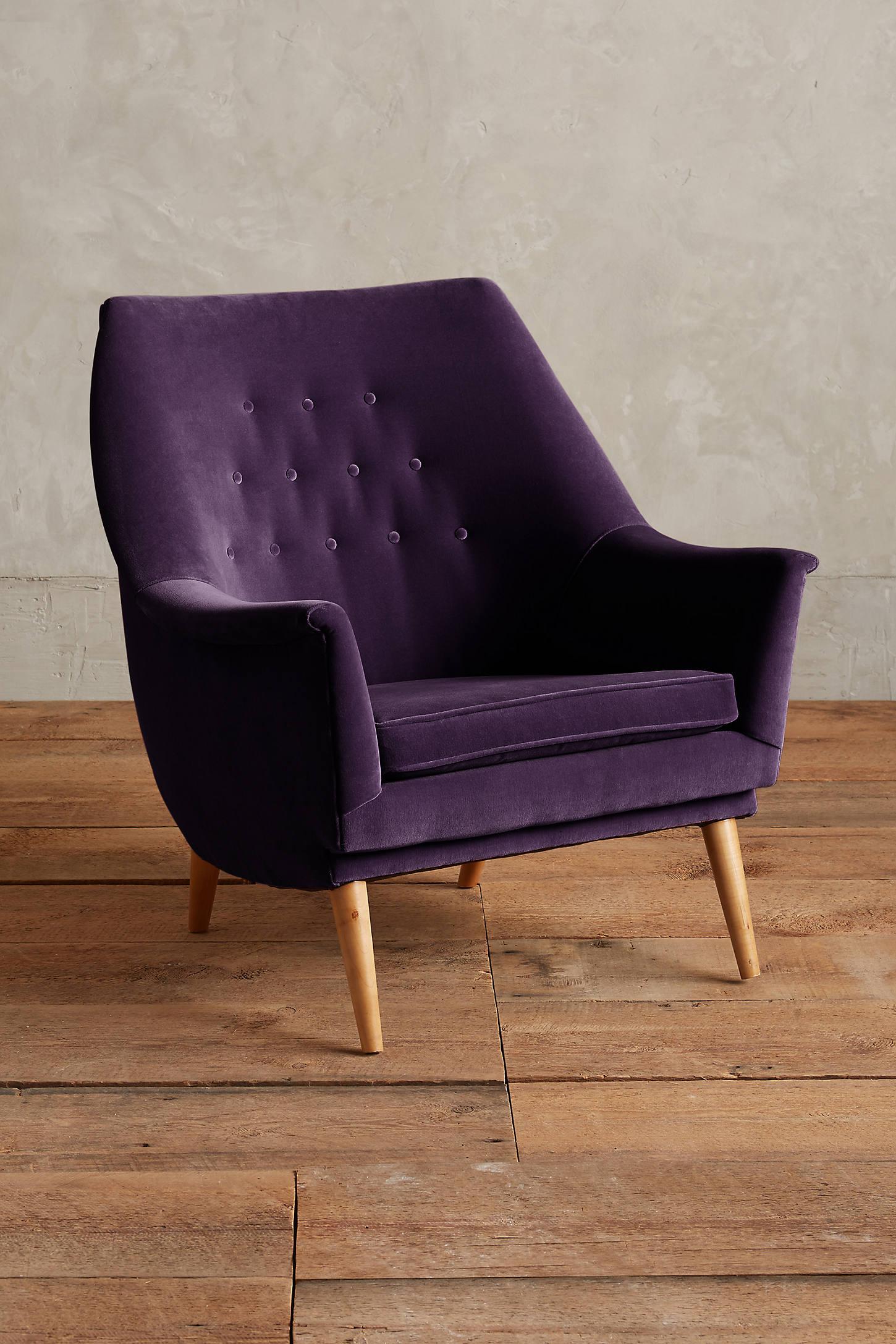 Velvet Rivona Chair