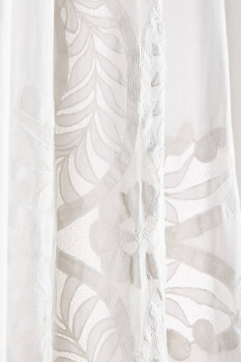 Embroidered Lacina Curtain