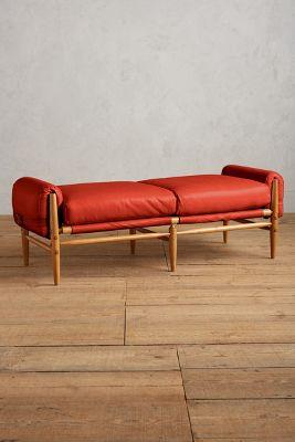 Premium Leather Rhys Bench