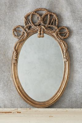 Braided Crest Mirror