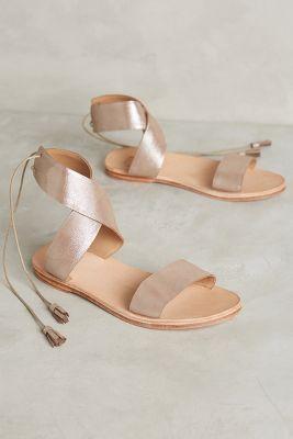 Huma Blanco Lita Sandals Silver 5 Sandals
