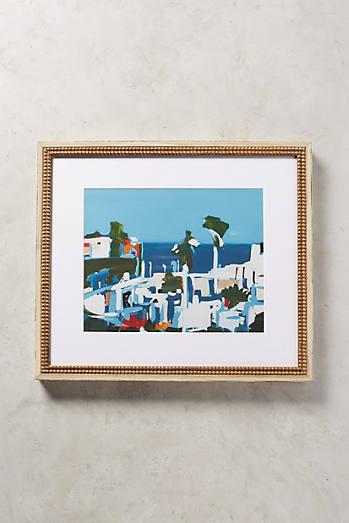 Mediterranean Landscape Wall Art