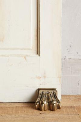 Antiqued Claw Doorstop