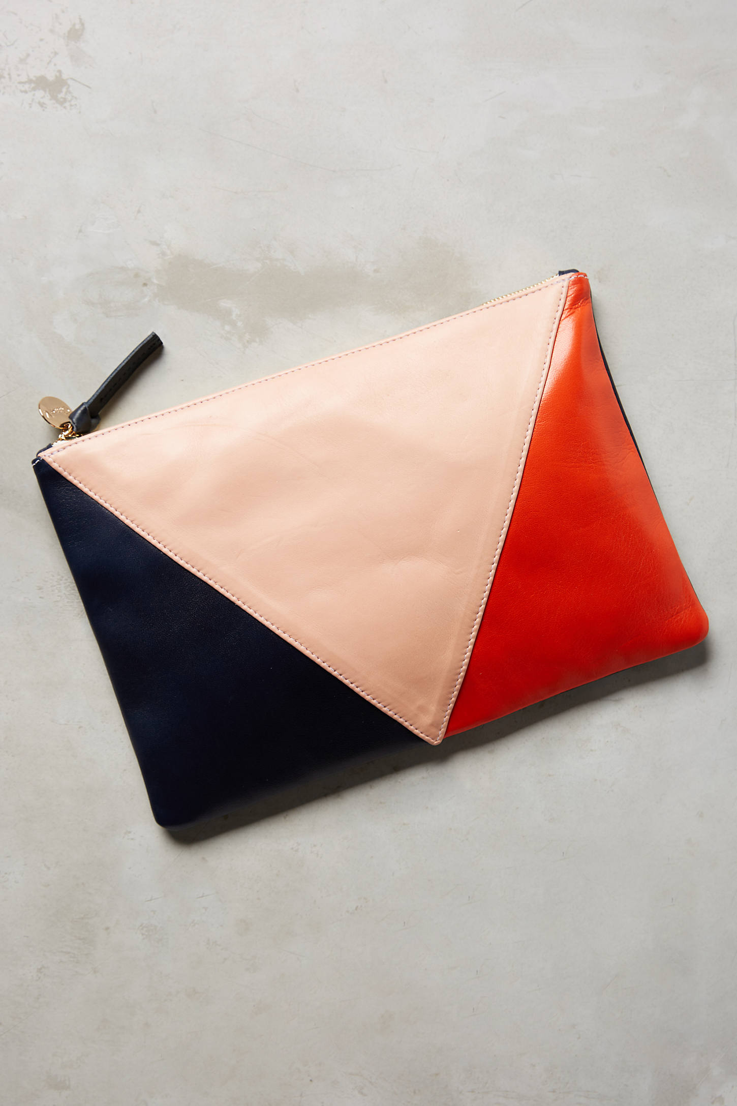Clare V. Angular Pouch