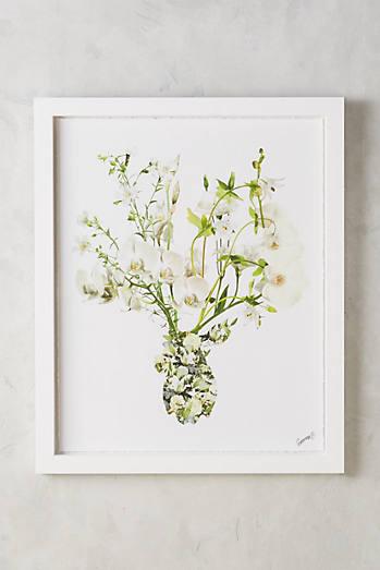 Ivory Bouquet Wall Art