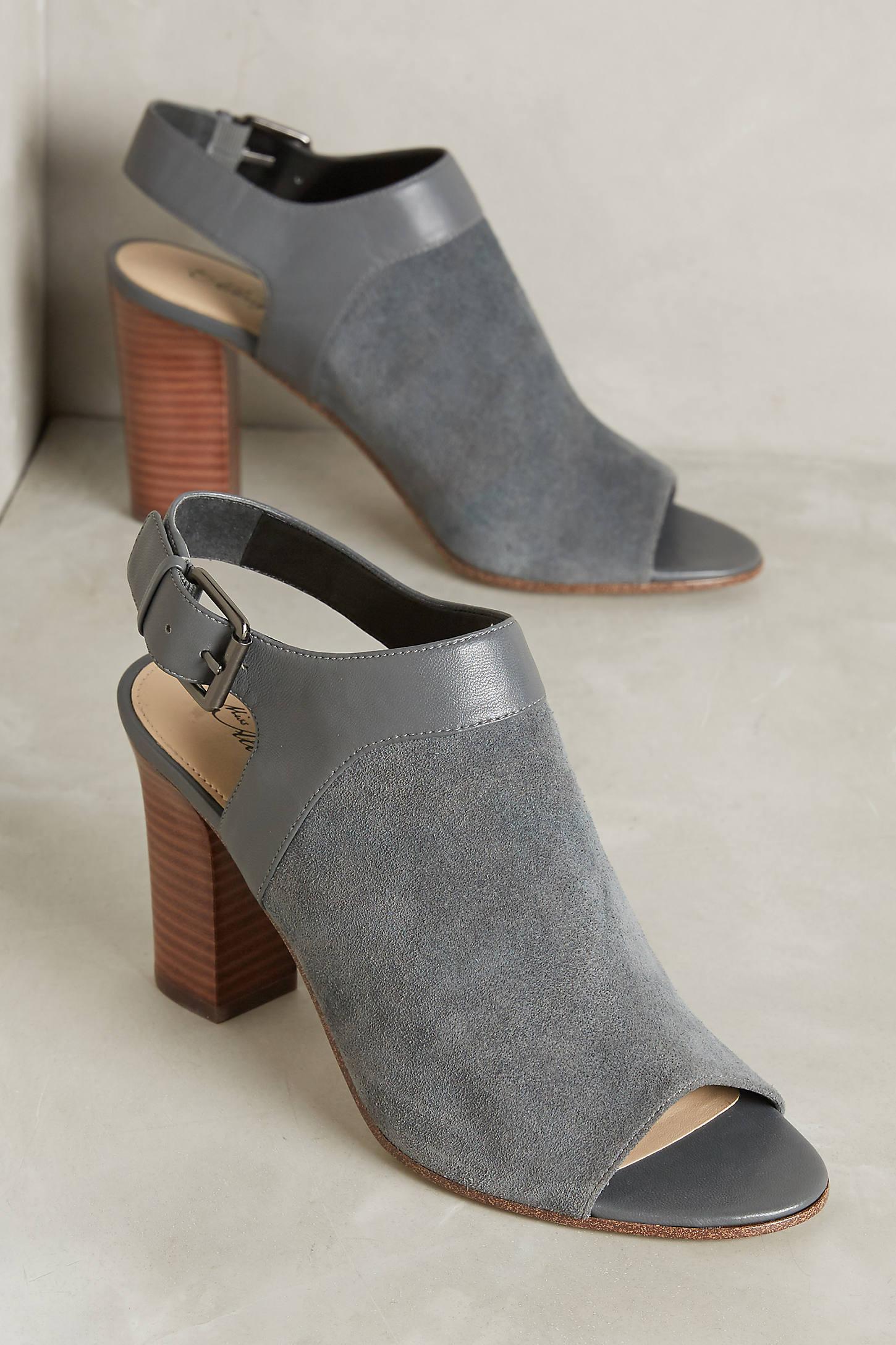 Fae Peep-Toe Heels
