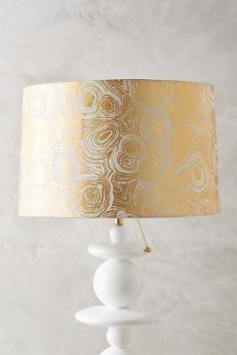 Gleaming Rings Lampshade