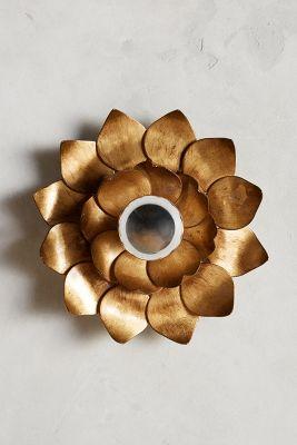 Sunflower Sconce