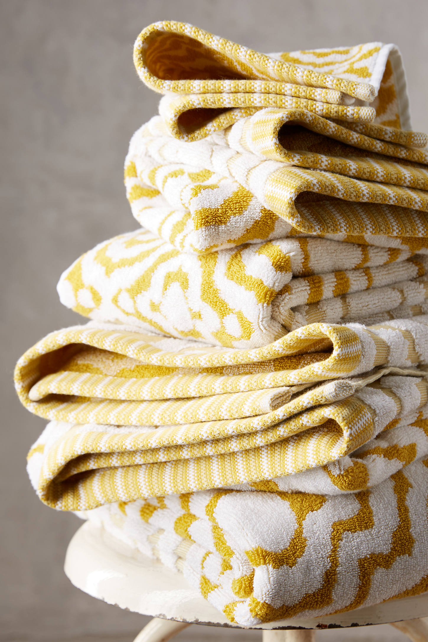 Yarn-Dyed Ruana Towel Collection