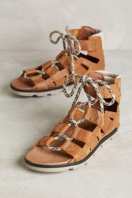 Sorel Torpeda Lace Sandals Honey 5 Sandals