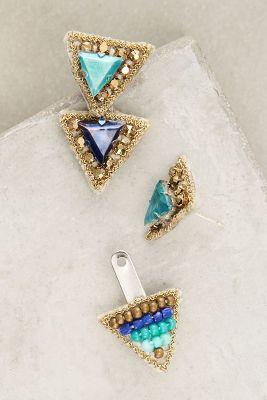 Delta Jacket Earrings