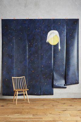 Swan Moon Mural