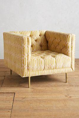 Trellis-Woven Mina Chair