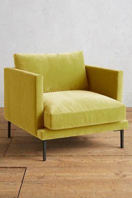 Velvet Linde Chair