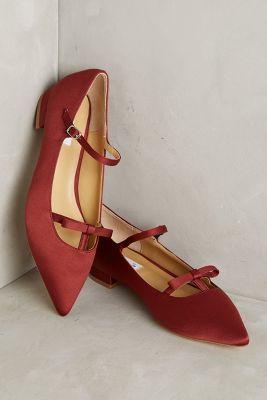 Vanessa Tao Pointed Bow Flats