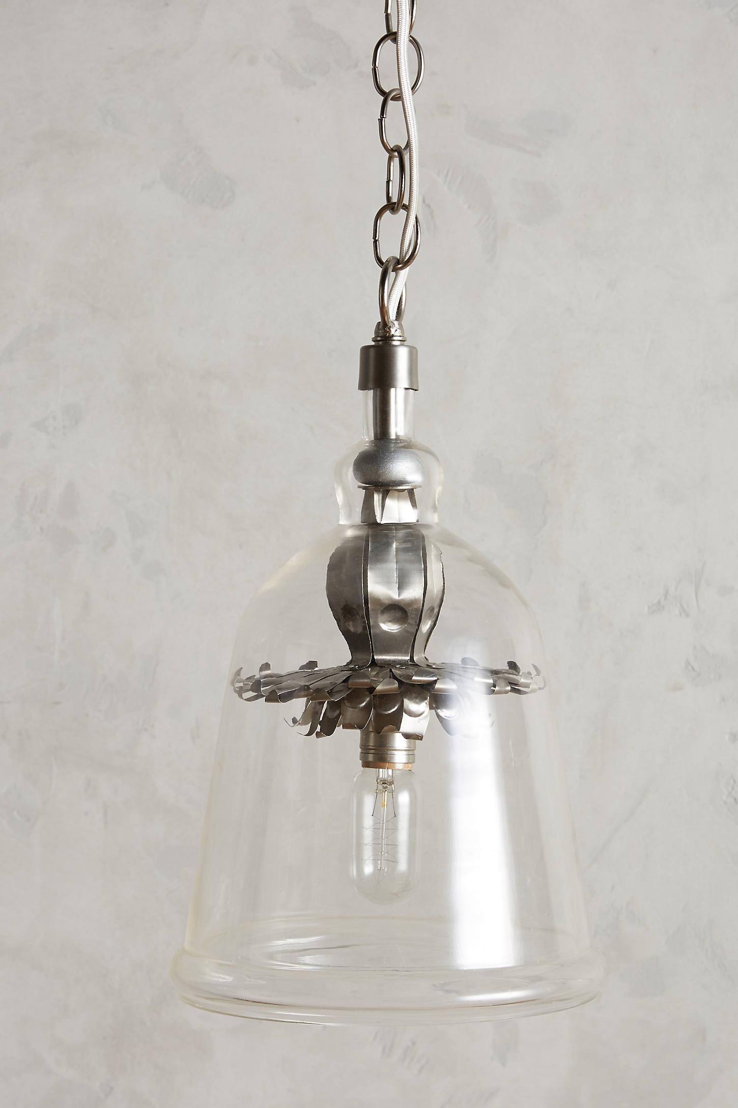 Iron Petals Pendant Lamp