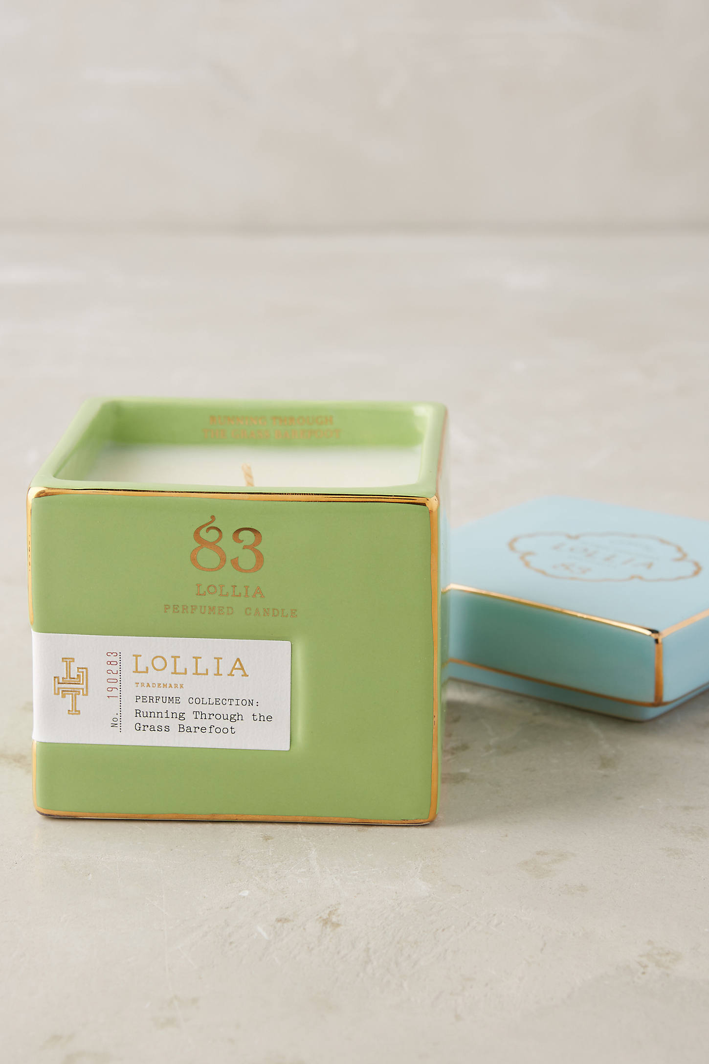 Lollia Poetic License Boxed Candle