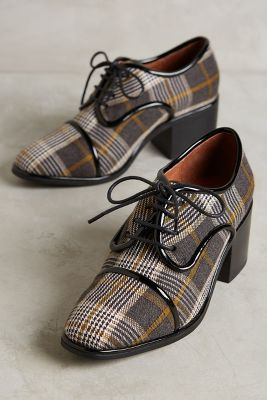Jeffrey Campbell Stewart Heeled Oxfords